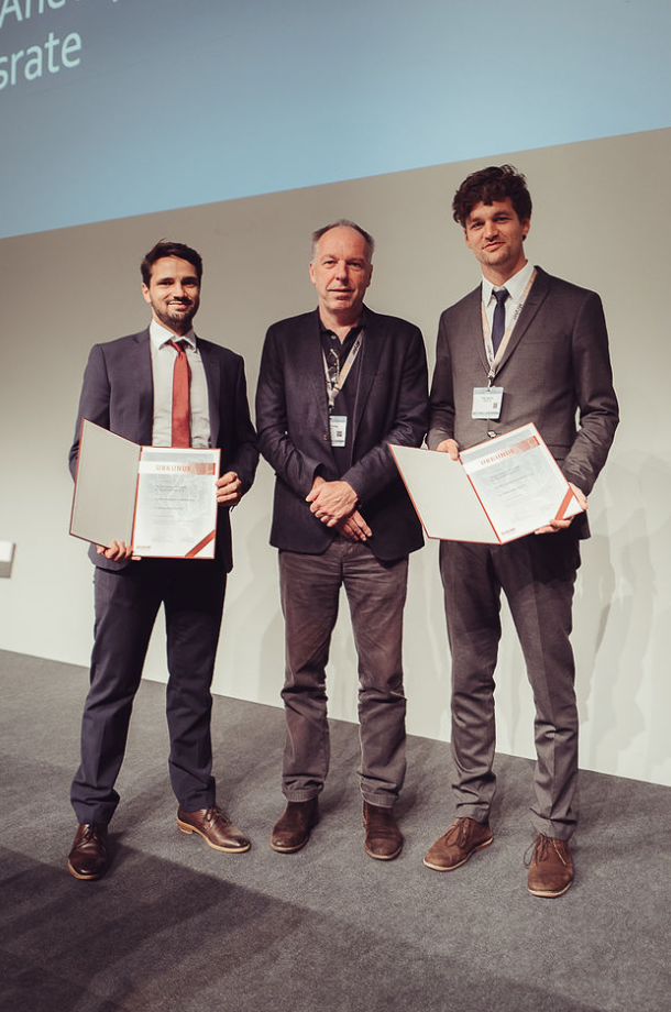(v. li n. re): Dr. Dominik Vollherbst, Prof. Dr. Michael Forsting, PD Dr. Peter Sporns